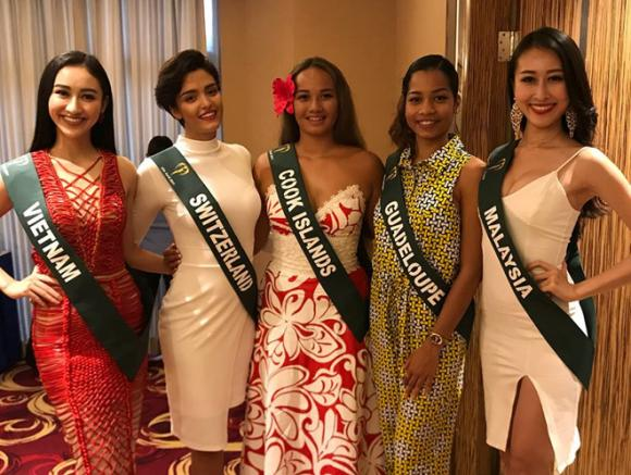 Hà Thu,  Miss Earth 2017, Hoa hậu Trái đất,Hoa hậu,sao Việt