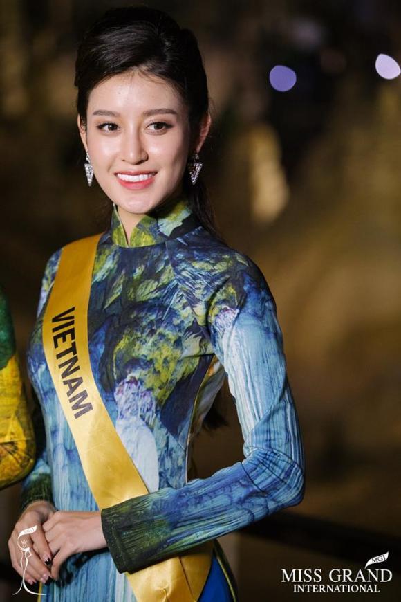 Hoa hậu,sao Việt,Miss Grand International 2017,Hoa hậu Hòa bình Thế giới,Huyền My