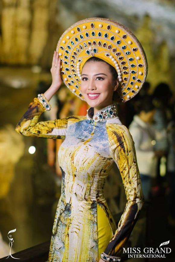 Hoa hậu,Hoa hậu Hòa bình Quốc tế,Miss Grand International,Hoa hậu Hòa bình Quốc tế 2017, NTK Nhật Dũng , Ariska Putri Pertiwi