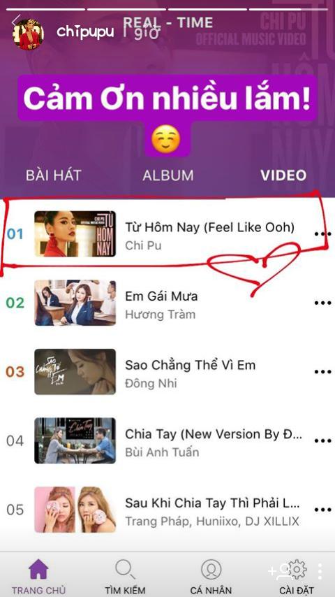 tin tức nhạc,nhạc Việt,Chi Pu,Từ hôm nay,Hương Tràm,Em gái mưa