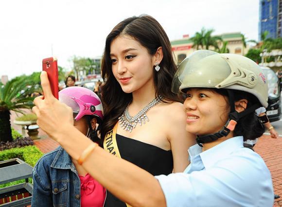 Hoa hậu,sao Việt,cuộc thi Hoa hậu,Hòa bình Thế giới,quảng bá du lịch,áo dài Việt Nam,Miss Grand International,du lịch Quảng Bình