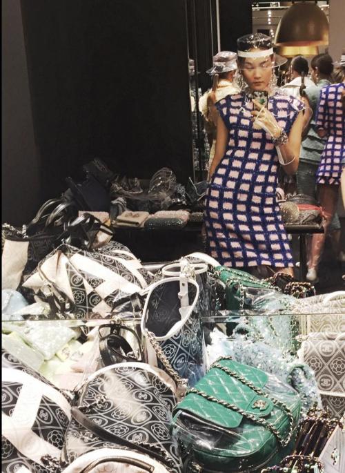Người mẫu thùy trang,show chanel,Louis Vuitton,người mẫu,Thùy Trang,sao Việt