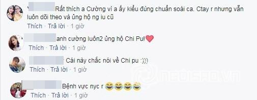 Cường Seven, Chi Pu, Gil Lê, sao Việt,chuyện làng sao