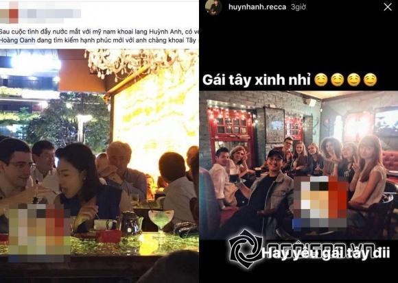 Huỳnh Anh, Huỳnh Anh và Hoàng Oanh, Huỳnh Anh chia tay bạn gái,chuyện làng sao,sao Việt
