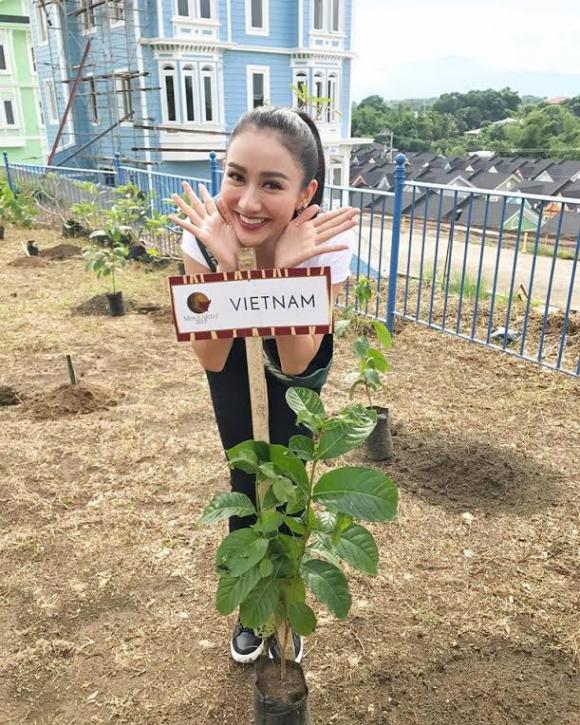 Hoa hậu,Á hậu Hà Thu, miss earth 2017, hà thu miss earth 2017, hà thu đi thi miss earth, hoa hậu việt,sao Việt