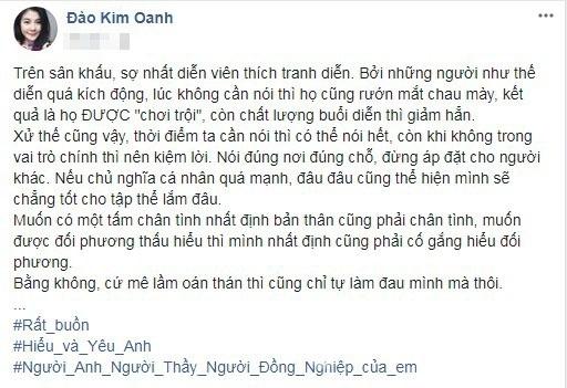 Vợ Xuân Bắc, diễn viên Kim Oanh, NSND Anh Tú,chuyện làng sao,sao Việt