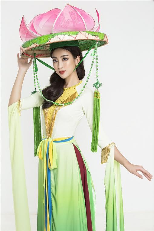 sao việt, đỗ mỹ linh, hoa hậu đỗ mỹ linh, đỗ mỹ linh dẫn đầu, trang phục truyền thống của đỗ mỹ linh,Hoa hậu