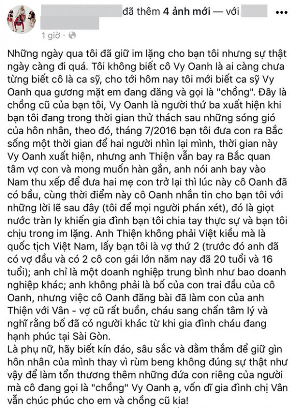 chuyện làng sao,sao Việt,Vy Oanh,Vy Oanh giật chồng