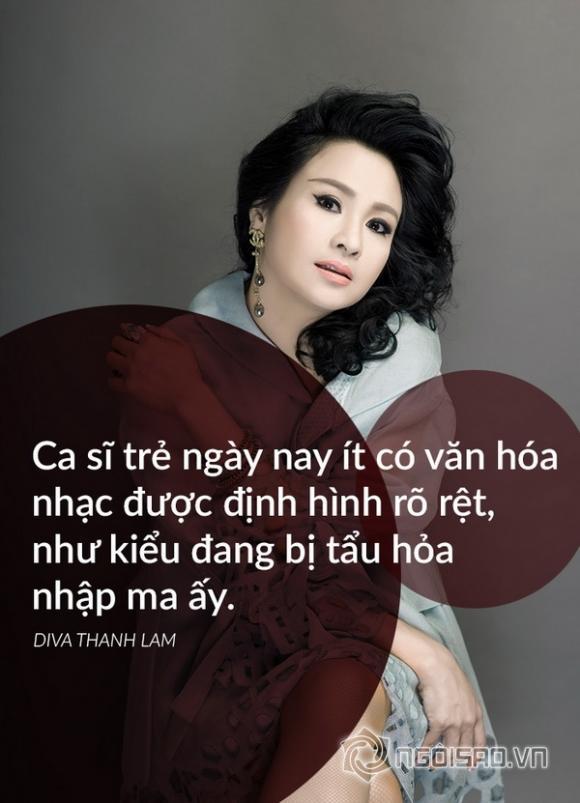 Diva thanh lam,ca sĩ thanh lam,phát ngôn của thanh lam,chuyện làng sao,sao Việt