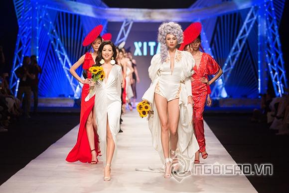 Tuần lễ thời trang quốc tế việt nam,hoa hậu thu thủy,maya