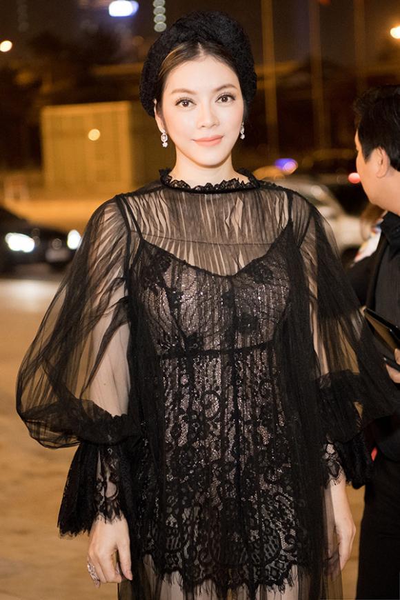 Lý Nhã Kỳ, diễn viên Lý Nhã Kỳ, Tuần lễ thời trang quốc tế Việt Nam 2017
