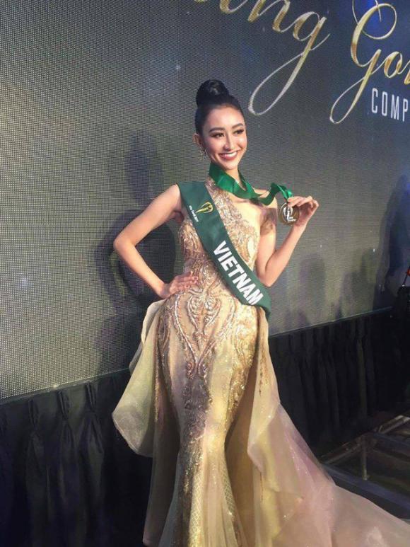 Hà Thu,Hoa hậu Trái đất 2017,Hà Thu Top 16 Hoa hậu Trái đất