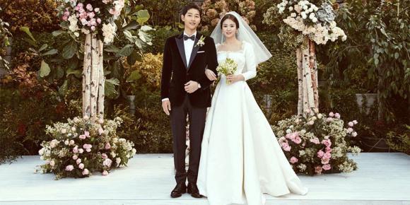 Song Hye Kyo,Song Joong Ki và Song Hye Kyo kết hôn,váy cưới của Song Hye Kyo
