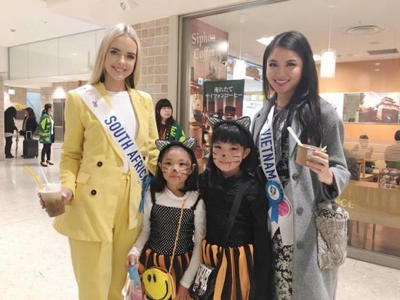 Thùy Dung, Á hậu Thùy Dung, Hoa hậu Quốc tế 2017, Miss International 2017