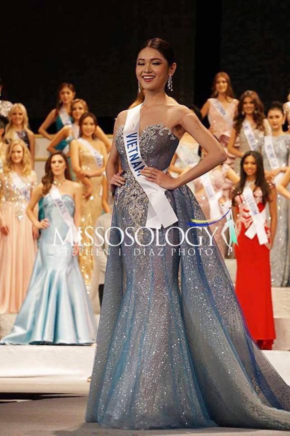 Thùy Dung, Hoa hậu Quốc tế 2017, Thùy Dung Hoa hậu Quốc tế 2017