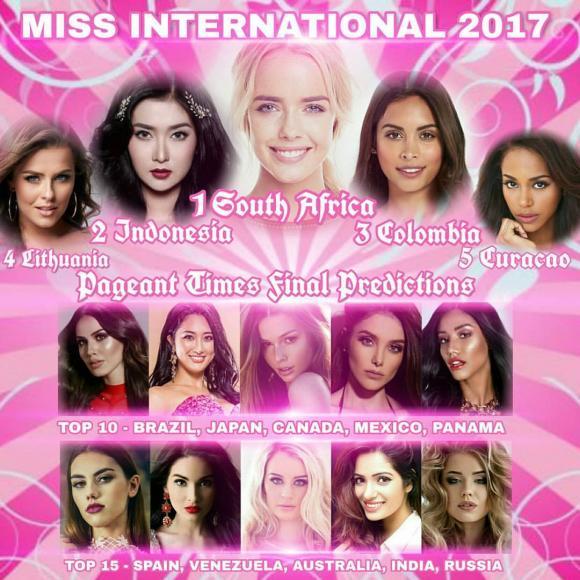 á hậu thùy dung, miss international 2017, thùy dung miss international 2017