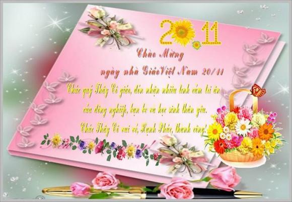 Lời chúc 20/11: Tổng hợp mẫu lời chúc 20/11 hay và ý nghĩa gửi tới thầy cô ngày nhà giáo Việt Nam