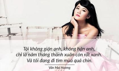 Văn Mai Hương, ca sĩ Văn Mai Hương , sao Việt