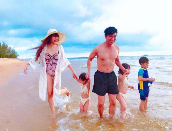 ,vợ chồng Lý Hải Minh Hà,vợ chồng Lý Hải Minh Hà và các con, vợ chồng lý hải kỷ niệm 7 năm ngày cưới