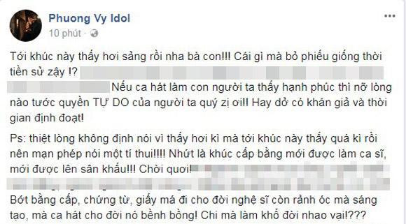 Phương Vy idol, Chi Pu, Minh Quân