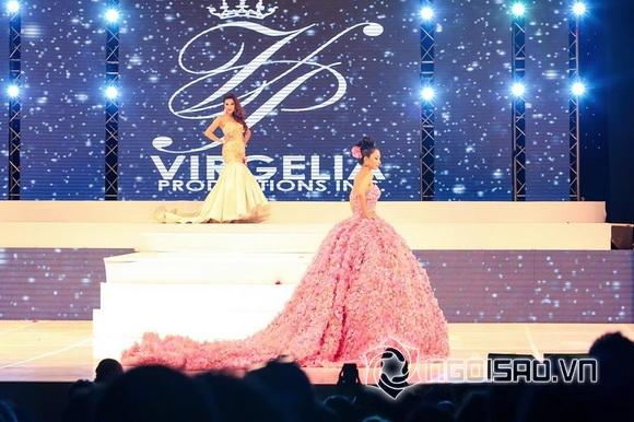 Saila Nguyễn, Hoa hậu châu Á quốc tế tại Mỹ 2017, sao việt