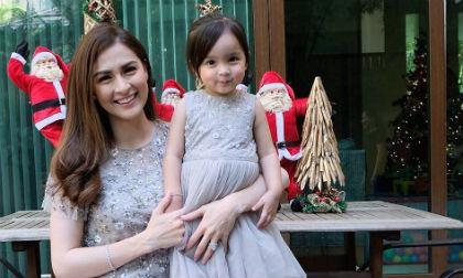 Maria Rivera,bé Zia,con gái mỹ nhân đẹp nhất Philippines,mỹ nhân đẹp nhất Philippines,sao Philippines