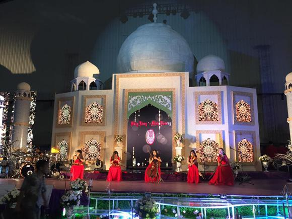 đám cưới hoành tráng, đám cưới bạc tỉ, đám cưới ở Bắc Ninh