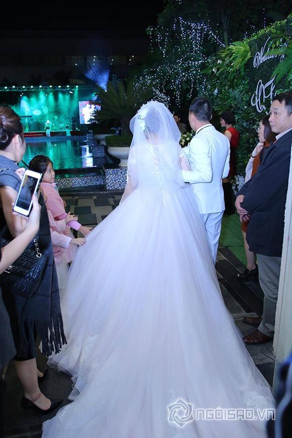nhật thủy idol,đám cưới nhật thủy, trang điểm Cao Tuấn Đạt,  áo cưới Quyên Nguyễn Bridal