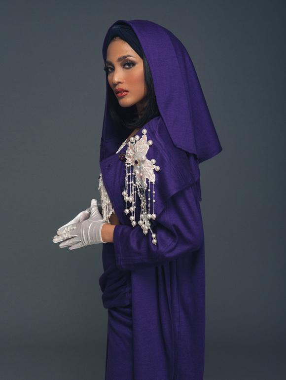 Á hậu trương thị may,á hậu dân tộc việt nam,trương thị may diện áo của mẹ