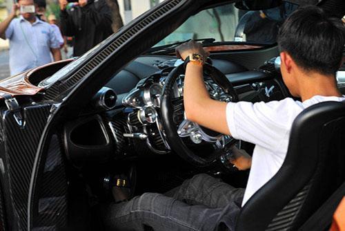 Pagani Huayra, siêu xe Pagani Huayra, Minh Nhựa
