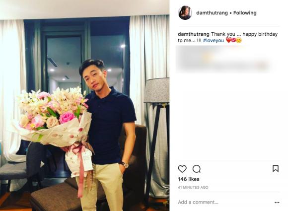 Đàm Thu Trang lần đầu đăng ảnh cận mặt Cường Đô la, nói lời yêu bạn trai ngọt ngào