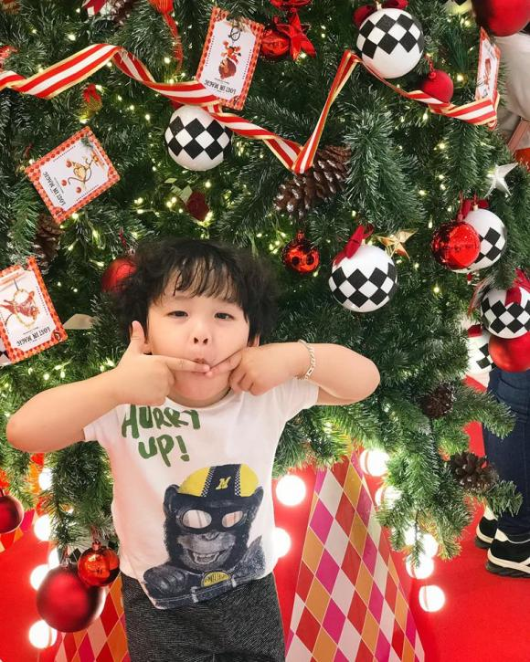 Hoa hậu Diễm Hương, Diễm Hương và con trai, sao Việt