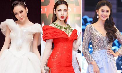 nữ hoàng thảm đỏ,sao Việt mặc đẹp,nữ hoàng thảm đỏ sao Việt
