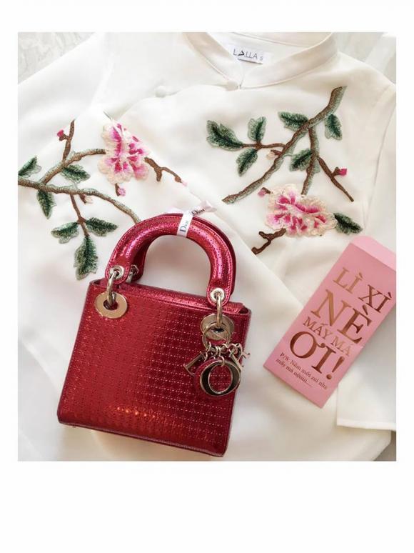 tủ đồ sang chảnh của Midu,Xu hướng túi xách,thời trang sao