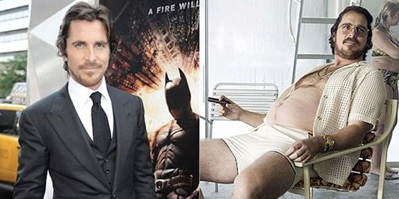 tăng cân, sao Hollywood,sao tăng cân