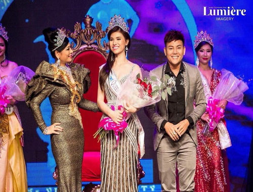 Hoa hậu, Á hậu Việt, Hoa hậu Mrs Supermodel, Hoa Hậu Quý Bà Hòa Bình Thế Giới 2017