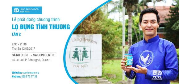Quỹ Lọ đựng tình thương, Oriflame Việt Nam, chương trình từ thiện Trao Yêu Thương Dịu Dàng