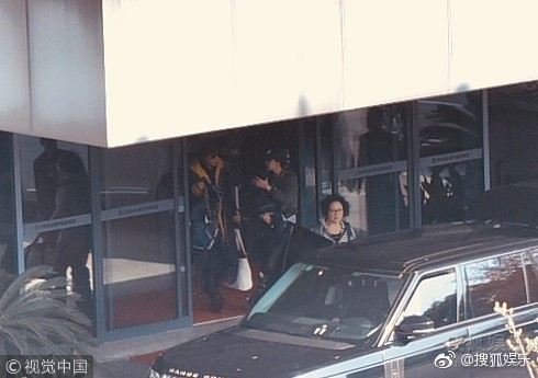 Huỳnh Hiểu Minh,Bọt Biển Nhỏ,Angela Baby,Angela Baby che chắn con trai