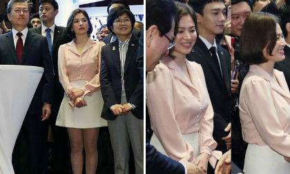 Song Joong Ki và Song Hye Kyo, vợ chồng song hye kyo đi chơi noel, Giáng sinh 2017