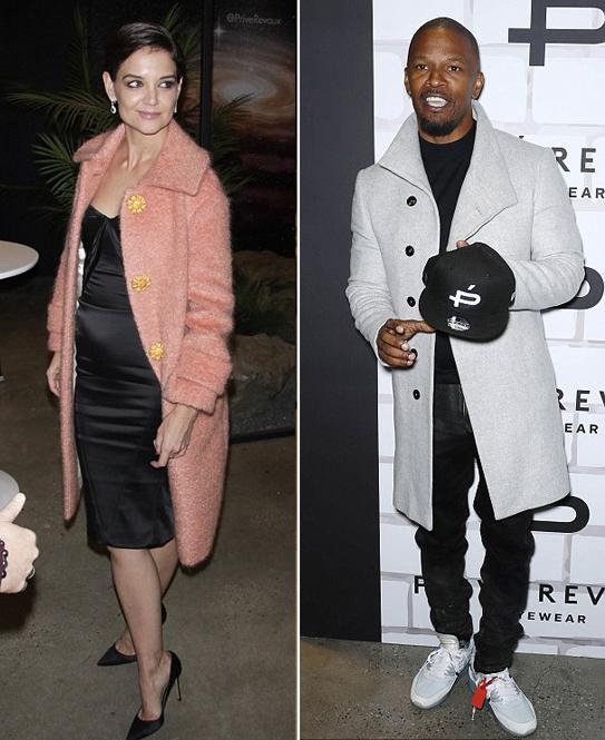 nữ diễn viên katie holmes,vợ cũ Tom Cruise, katie holmes hẹn hò jamie foxx