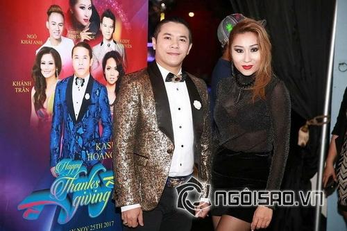 Hoa hậu Kim Shaner, Kasim Hoàng Vũ, sao việt
