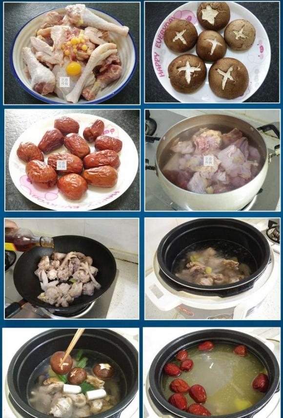 cách nấu các món canh mùa đông, món canh mùa đông, canh gà hầm nấm