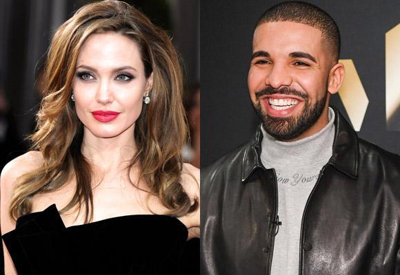 Drake,Angelina Jolie,Angelina Jole bị thả thính