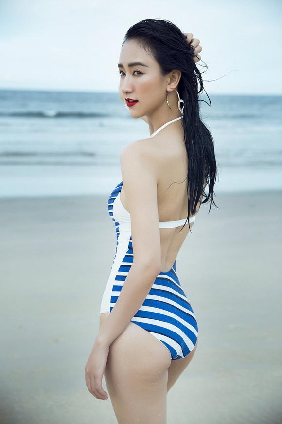 Hà Thu khoe body cực 'chuẩn' trong bộ ảnh bikini