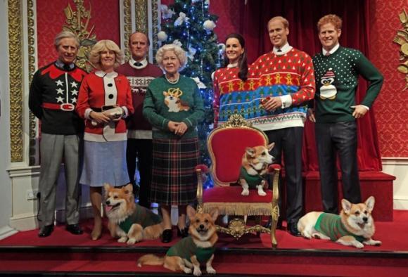 Cách đón Giáng sinh đặc biệt của các thành viên trong cung điện Hoàng gia Anh