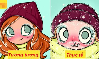 vấn đề phụ nữ gặp phải khi mùa đông đến, những vấn đề gặp phải trong mùa đông, mùa đông