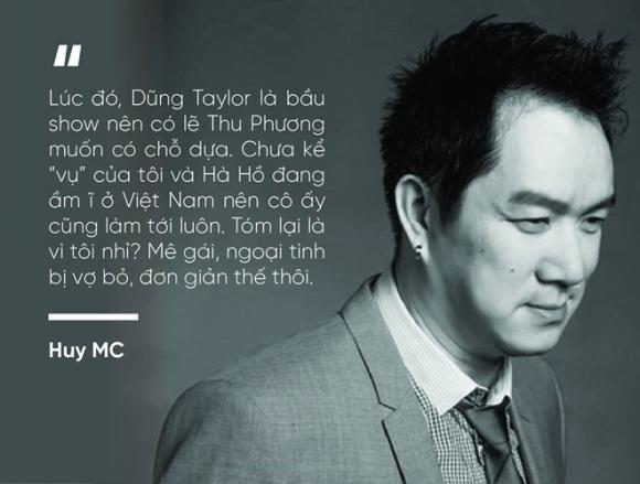 Huy MC, Hà Hồ, Sao việt