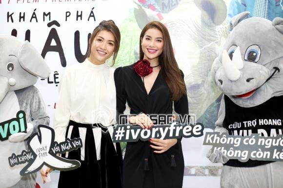 MC Phan Anh,Hoa hậu Phạm Hương,Á hậu Lệ Hằng