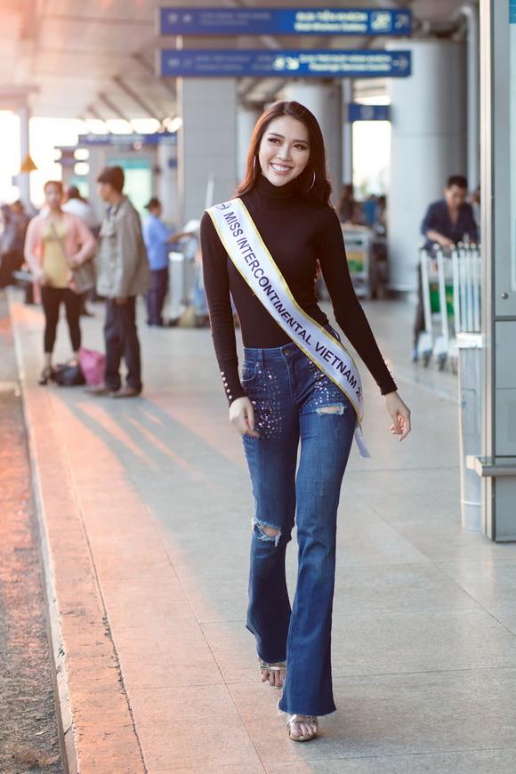 Người đẹp tường linh,tường linh lên đường thi hoa hậu,Miss Intercontinental 2017