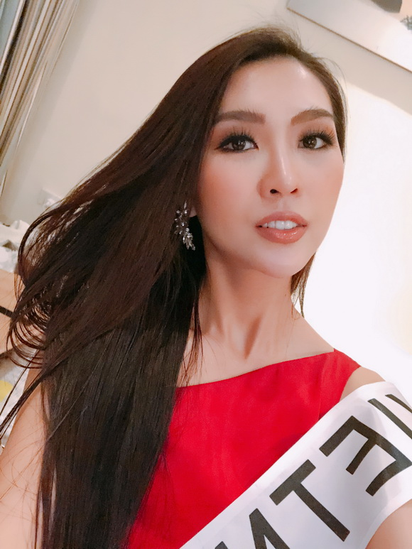 Người đẹp tường linh,tường linh đi thi hoa hậu,Miss Intercontinental 2017